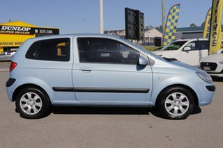 2010 Hyundai Getz TB MY09 S Sky Blue 5 Speed Manual Hatchback