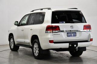 2019 Toyota Landcruiser VDJ200R Sahara Pearl White 6 Speed Sports Automatic Wagon