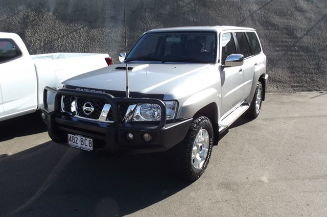 Used Nissan Patrol Y61 GU 10 N-TEC South Gladstone, 2016 Nissan Patrol Y61 GU 10 N-TEC Silver 5 Speed Manual Wagon