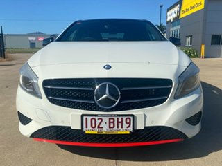 2013 Mercedes-Benz A-Class W176 A180 D-CT White 7 Speed Sports Automatic Dual Clutch Hatchback