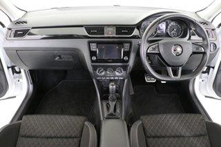 2018 Skoda Rapid Spaceback NH MY18 92 TSI White 7 Speed Auto Direct Shift Wagon