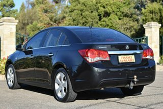 2009 Holden Cruze JG CDX Black 5 Speed Manual Sedan
