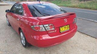 2007 Mazda 6 GG Series 2 MZR-CD Red Manual Hatchback