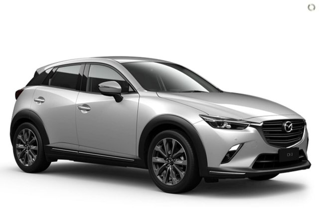 New Mazda CX-3 DK2W7A sTouring SKYACTIV-Drive FWD East Maitland, 2021 Mazda CX-3 DK2W7A sTouring SKYACTIV-Drive FWD White 6 Speed Sports Automatic Wagon