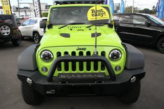 2012 Jeep Wrangler JK MY2013 Unlimited Sport Green 5 Speed Automatic Softtop