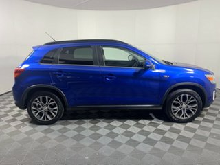 2016 Mitsubishi ASX XB MY15.5 LS 2WD Lightning Blue 5 Speed Manual Wagon