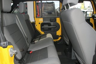 2007 Jeep Wrangler JK Unlimited Sport Yellow 4 Speed Automatic Softtop