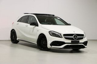 2017 Mercedes-AMG A 45 176 MY17 4Matic White 7 Speed Auto Dual Clutch Hatchback.