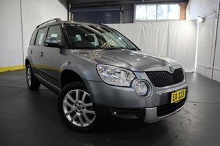 2013 Skoda Yeti 5L MY13 112TSI DSG Grey 6 Speed Sports Automatic Dual Clutch Wagon