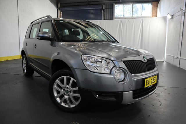 Used Skoda Yeti 5L MY13 112TSI DSG Castle Hill, 2013 Skoda Yeti 5L MY13 112TSI DSG Grey 6 Speed Sports Automatic Dual Clutch Wagon
