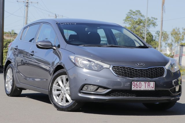 Used Kia Cerato YD MY14 SI Rocklea, 2014 Kia Cerato YD MY14 SI Planet Blue 6 Speed Sports Automatic Hatchback