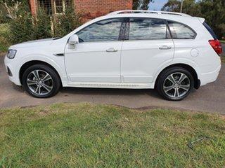 2016 Holden Captiva CG LTZ White Sports Automatic Wagon.