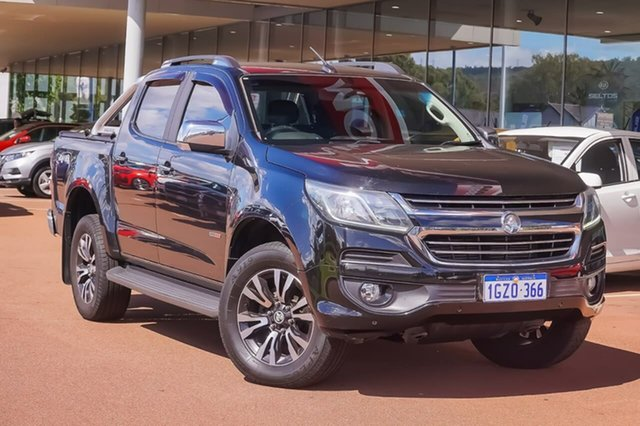Used Holden Colorado RG MY17 LTZ Pickup Crew Cab Gosnells, 2017 Holden Colorado RG MY17 LTZ Pickup Crew Cab Black 6 Speed Sports Automatic Utility