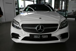 2019 Mercedes-Benz C-Class C205 800MY C200 9G-Tronic White 9 Speed Sports Automatic Coupe