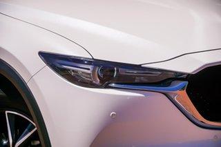 2019 Mazda CX-5 KF4WLA GT SKYACTIV-Drive i-ACTIV AWD White 6 Speed Sports Automatic Wagon