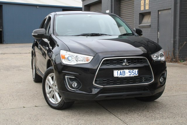 Used Mitsubishi ASX XB MY14 (2WD) West Footscray, 2014 Mitsubishi ASX XB MY14 (2WD) Continuous Variable Wagon