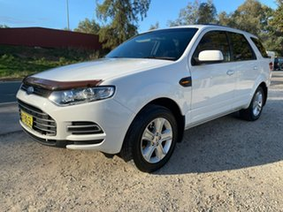 2014 Ford Territory SZ TX White Sports Automatic SUV.