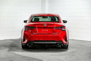 2020 Lexus RC GSC10R RC350 F Sport Red 8 Speed Sports Automatic Coupe