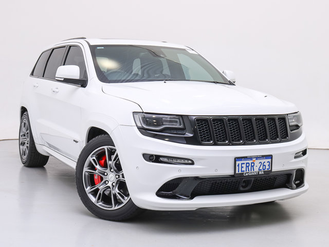 Used Jeep Grand Cherokee WK MY14 SRT 8 (4x4), 2014 Jeep Grand Cherokee WK MY14 SRT 8 (4x4) White 8 Speed Automatic Wagon