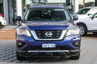 2020 Nissan Pathfinder R52 Series III MY19 Ti X-tronic 2WD Caspian Blue 1 Speed Constant Variable
