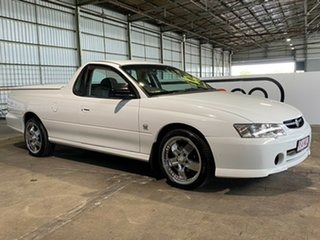 2003 Holden Ute VY S White 4 Speed Automatic Utility.