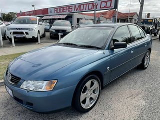 2004 Holden Commodore VY II Executive Blue 4 Speed Automatic Sedan.