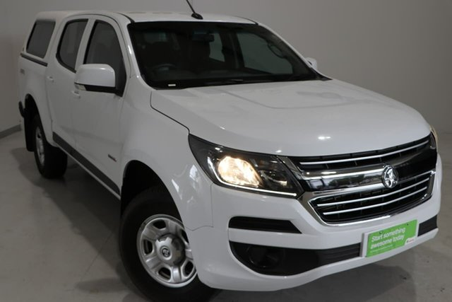 Used Holden Colorado RG MY19 LS Pickup Crew Cab Wagga Wagga, 2018 Holden Colorado RG MY19 LS Pickup Crew Cab White 6 Speed Sports Automatic Utility