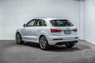 2014 Audi RS Q3 8U MY14 S Tronic Quattro White 7 Speed Sports Automatic Dual Clutch Wagon.