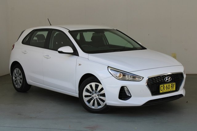 Used Hyundai i30 PD MY18 Go Phillip, 2018 Hyundai i30 PD MY18 Go White 6 Speed Manual Hatchback