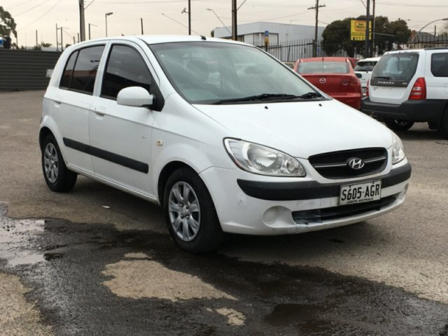 Used Hyundai Getz TB MY09 SX Blair Athol, 2010 Hyundai Getz TB MY09 SX White 4 Speed Automatic Hatchback