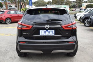 2019 Nissan Qashqai J11 Series 3 MY20 Ti X-tronic Black 1 Speed Constant Variable Wagon