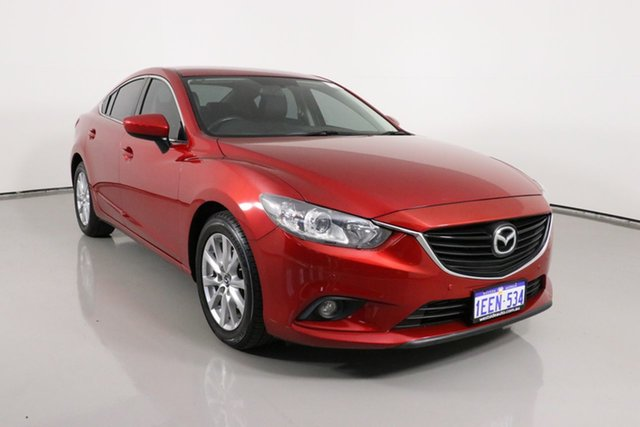 Used Mazda 6 6C Touring Bentley, 2013 Mazda 6 6C Touring Red 6 Speed Automatic Sedan