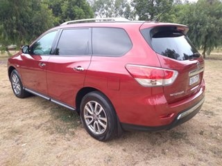 2016 Nissan Pathfinder R52 MY16 ST X-tronic 4WD Red 1 Speed Constant Variable Wagon.