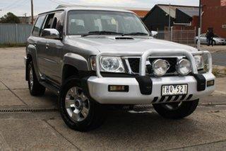 2005 Nissan Patrol GU IV ST (4x4) 4 Speed Automatic Wagon.