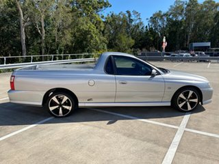 2007 Holden Commodore VZ SVZ Silver 5 Speed Automatic Utility.