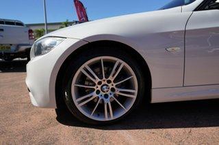 2011 BMW 320d E91 MY11 Touring Lifestyle White 6 Speed Auto Steptronic Wagon.
