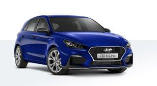 2020 Hyundai i30 PD.V4 MY21 N Line D-CT Blue 7 Speed Sports Automatic Dual Clutch Hatchback