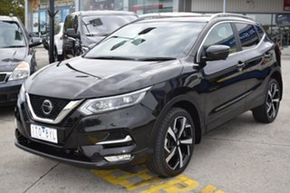 2019 Nissan Qashqai J11 Series 3 MY20 Ti X-tronic Black 1 Speed Constant Variable Wagon.