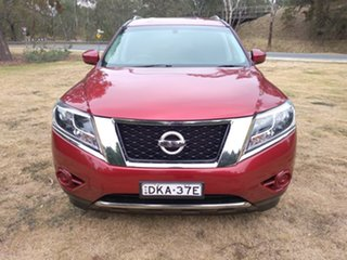 2016 Nissan Pathfinder R52 MY16 ST X-tronic 4WD Red 1 Speed Constant Variable Wagon