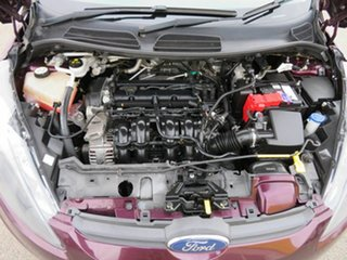 2012 Ford Fiesta WT LX Red 5 Speed Manual Hatchback