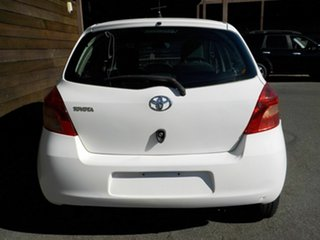2007 Toyota Yaris NCP90R YR White 5 Speed Manual Hatchback