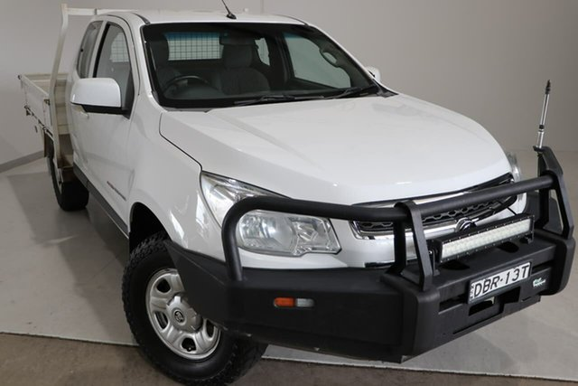Used Holden Colorado RG MY16 LS Space Cab Wagga Wagga, 2015 Holden Colorado RG MY16 LS Space Cab White 6 Speed Manual Cab Chassis
