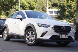 2021 Mazda CX-3 DK2W7A Maxx SKYACTIV-Drive FWD Sport Snowflake White 6 Speed Sports Automatic Wagon.