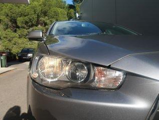 2012 Mitsubishi Lancer CJ MY12 ES Grey 5 Speed Manual Sedan.