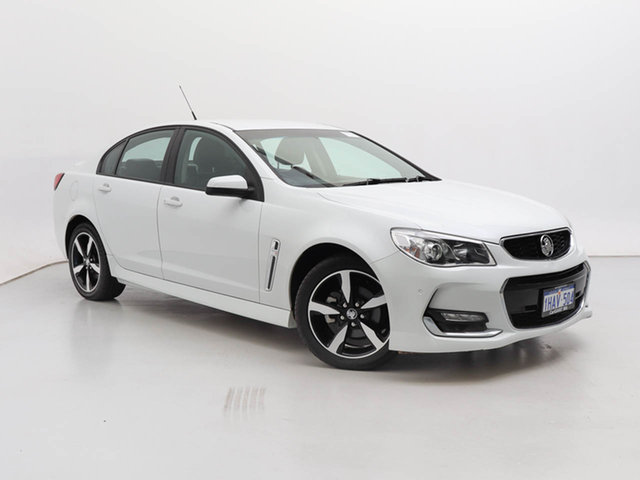Used Holden Commodore VF II MY17 SV6, 2017 Holden Commodore VF II MY17 SV6 White 6 Speed Automatic Sedan