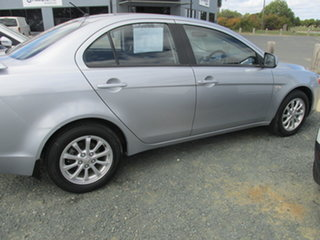 2011 Mitsubishi Lancer CJ MY11 SX Silver 6 Speed Constant Variable Sedan
