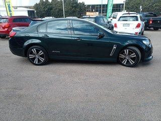 2015 Holden Commodore VF MY15 SV6 Storm Green 6 Speed Sports Automatic Sedan.