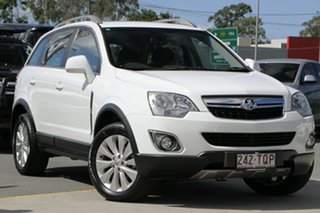 2014 Holden Captiva CG MY14 5 LT White 6 Speed Sports Automatic Wagon.