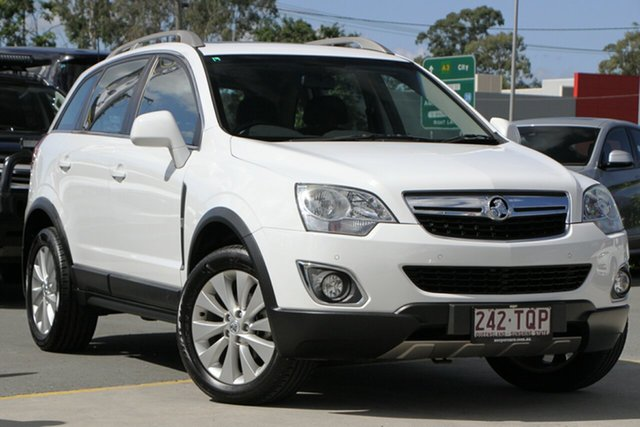 Used Holden Captiva CG MY14 5 LT Aspley, 2014 Holden Captiva CG MY14 5 LT White 6 Speed Sports Automatic Wagon