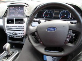 2011 Ford Falcon XR6 Silver 6 Speed Automatic Utility